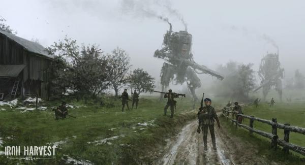 Трейлер новой игрушки дизельпанк Iron Harvest