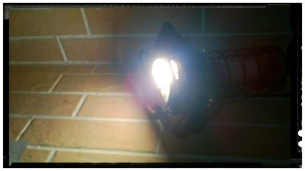 Настольный светильник Янус