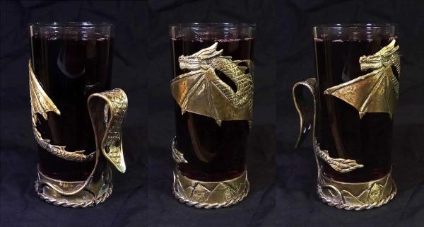 Подстаканник - Золотой Дракон