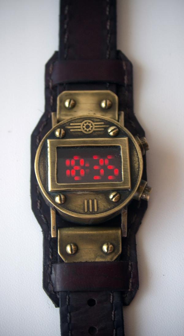 Наручные часы на светодиодах