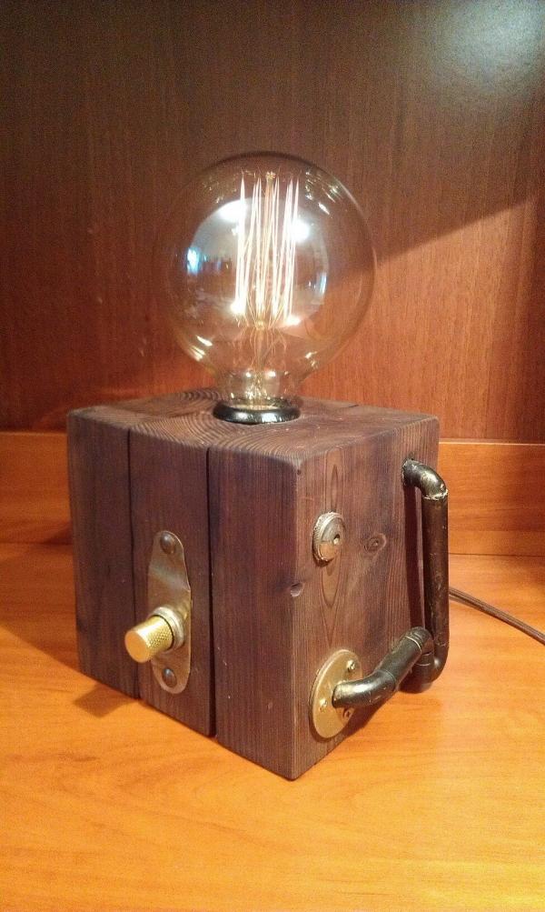 настольный светильник *голова профессора Доуля*