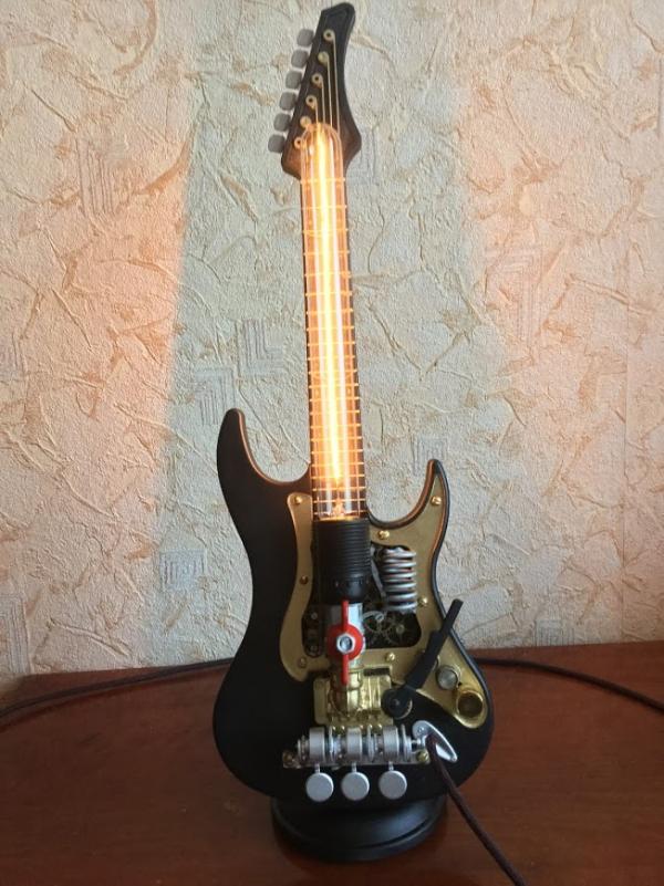 светильник гитара