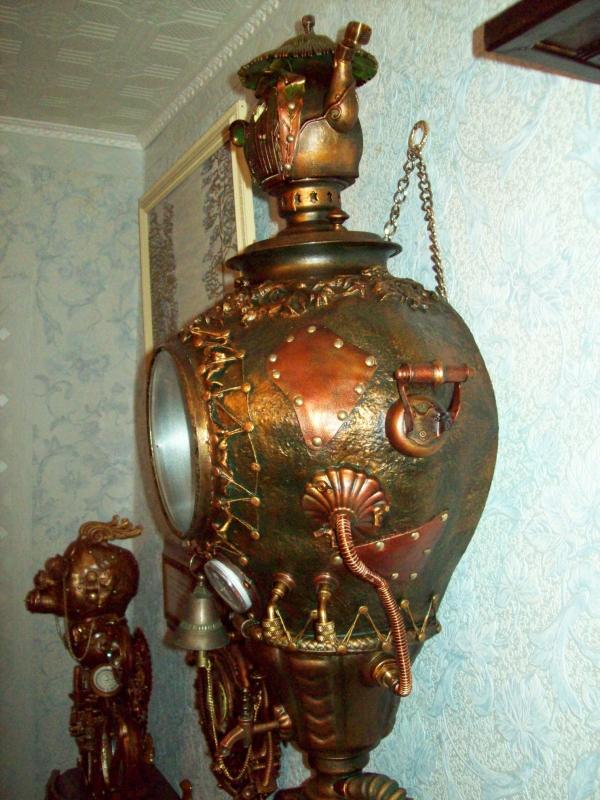 Часы Паровой Кандибобер