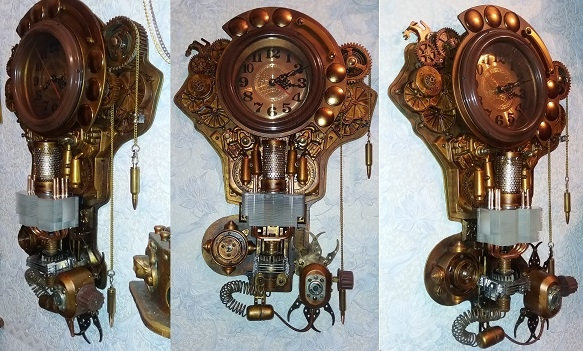 Арт-объект: Часы космонавта Андропова.