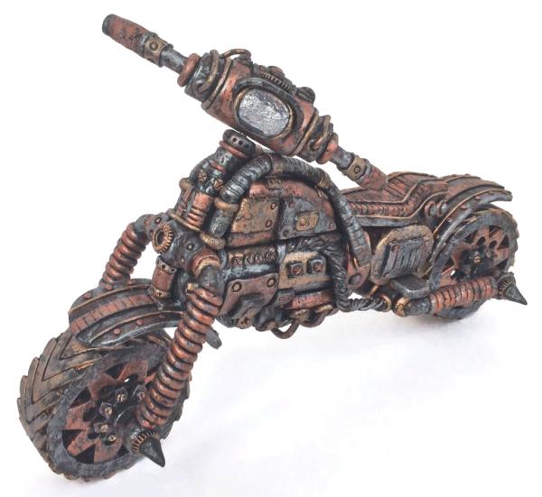 Стимпанк-мотоцикл