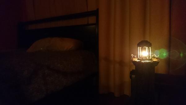 Маяк-ночник, светящийся в темноте