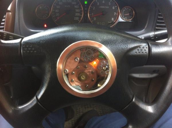 Интерактивный руль, самому нравится)))