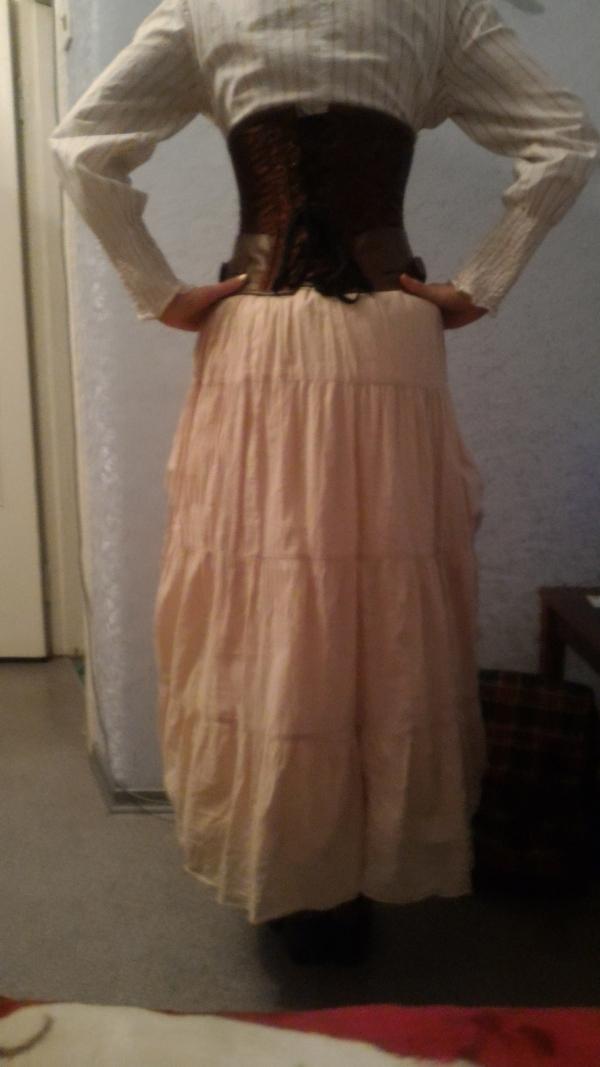 Свадебный костюм. Низ