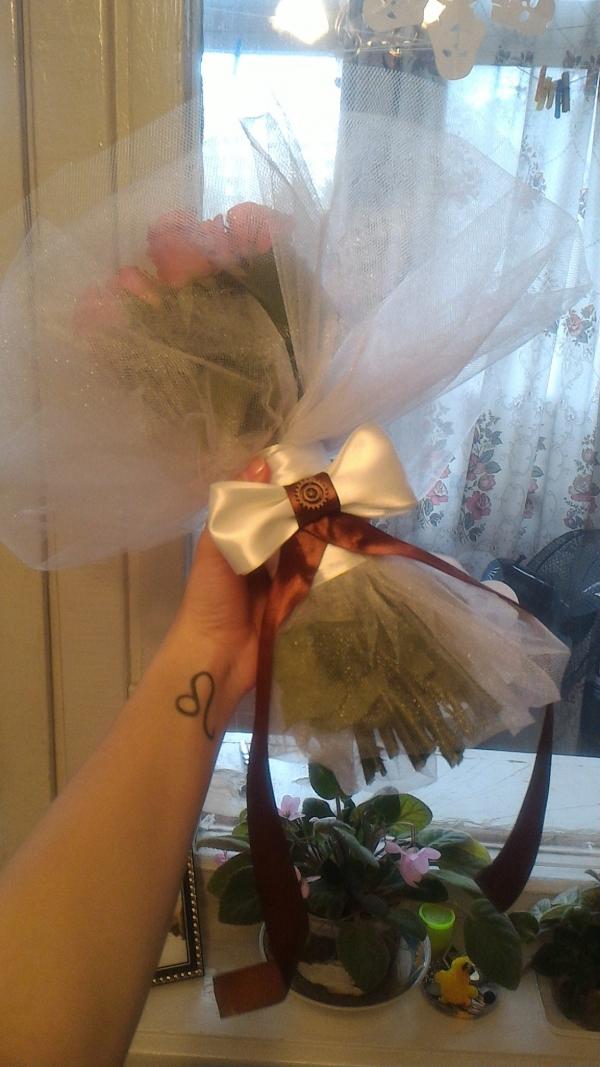 Букеты невесты в стиле стимпанк