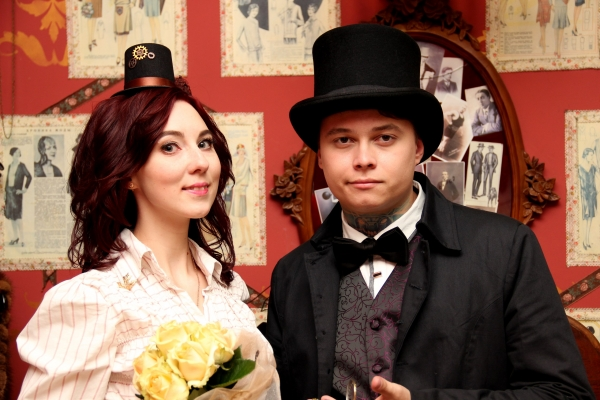 Наша стимпанк свадьба