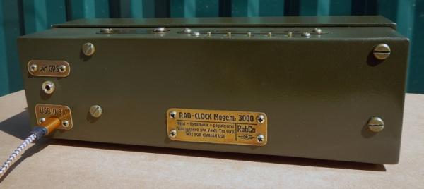 Настольные часы-будильник-радиометр-термометр на газоразрядных индикаторах RAD-CLOCK 3000