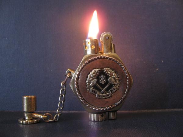 Зажигалка Горноспасательская,стандартная(не стим!)