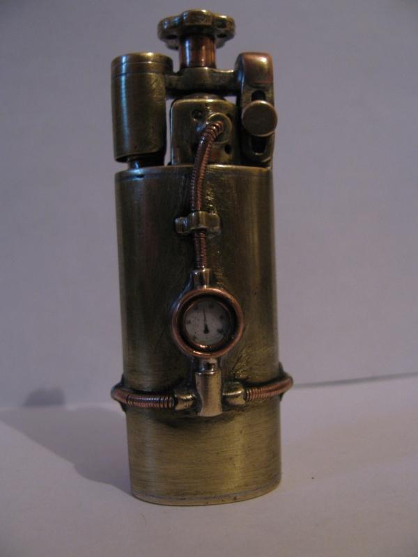Зажигалка из ружейной гильзы