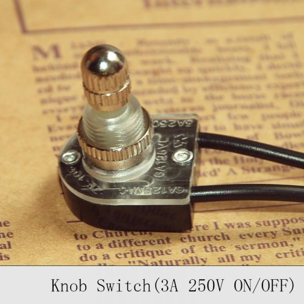 Lamp Knob Switch On/Off Switch