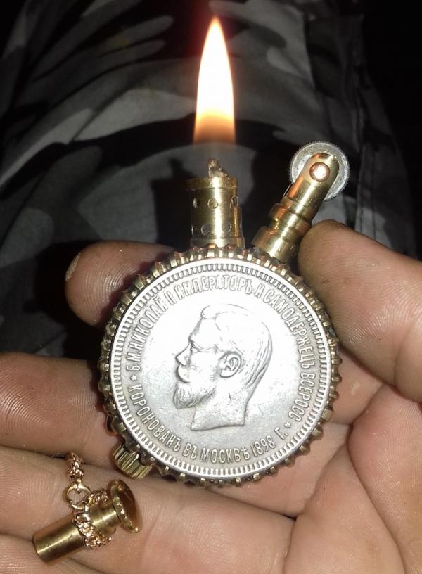 Зажигалка Матильда.