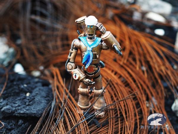 Стимбот-моряк Сиборг (Seaborg)