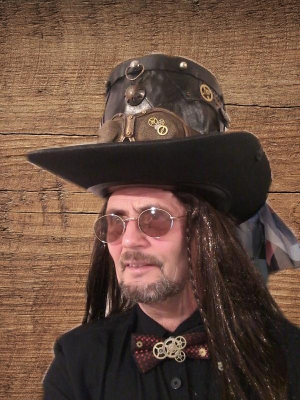 Шляпа,steampank