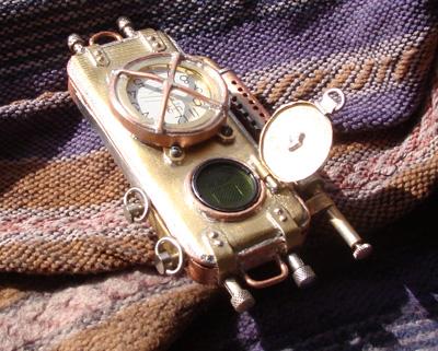 стимпанк телефон из Питера другой вид