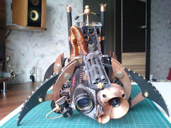 Имперский автономный ударно-разведывательный паровой дрон (Фото 18)