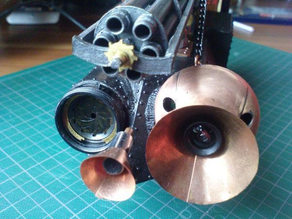 Имперский автономный ударно-разведывательный паровой дрон (Фото 21)