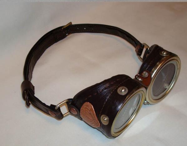 Эксклюзивно для Steampunker: Аукцион - лот Очки (Steampunk Goggles) от Perpetuum Mobile. (Фото 9)
