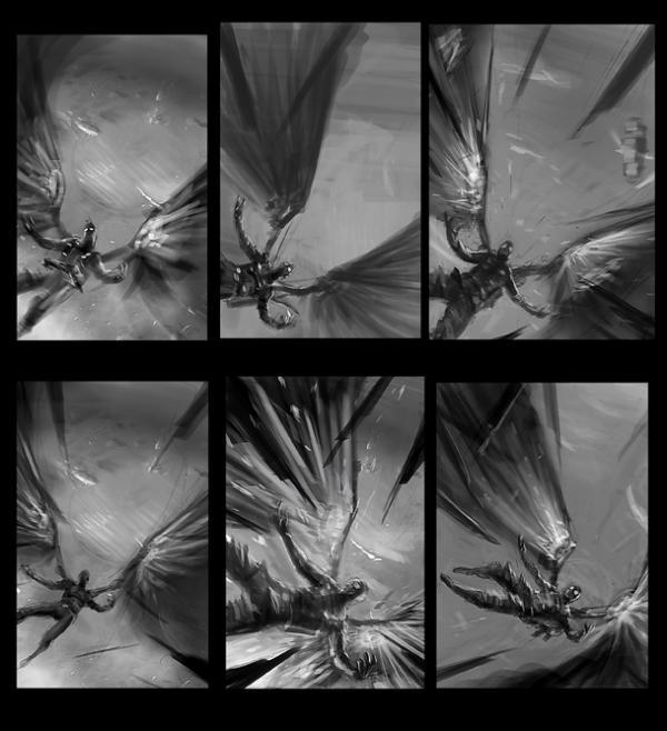 Стимпанк зарисовки - Икар