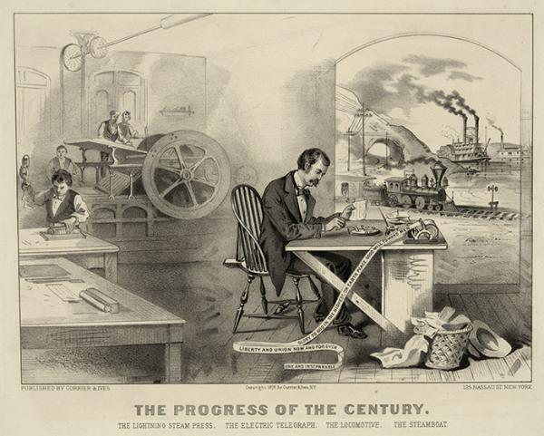 Научно-технический прогресс XIX в. глазами современников