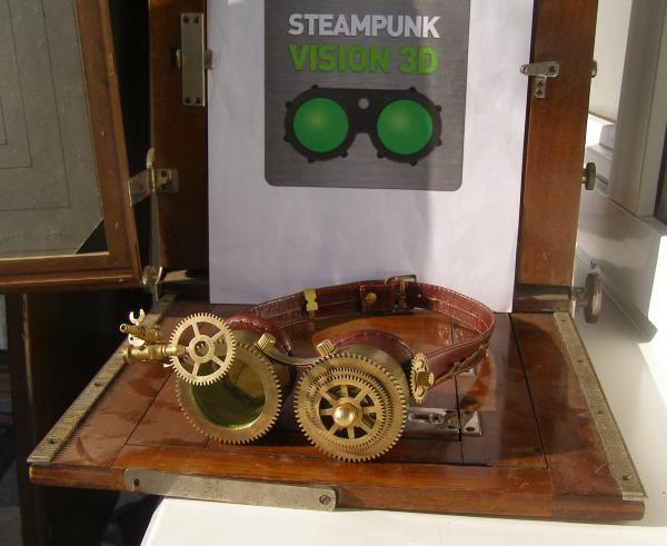 """STEAMPUNK - VISION 3D"" от NVIDIA"""
