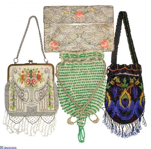 Дамские сумочки в Викторианскую эпоху (Фото 15)