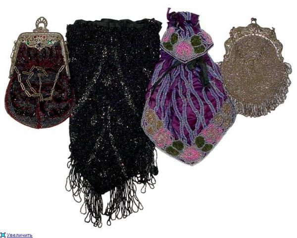 Дамские сумочки в Викторианскую эпоху (Фото 24)