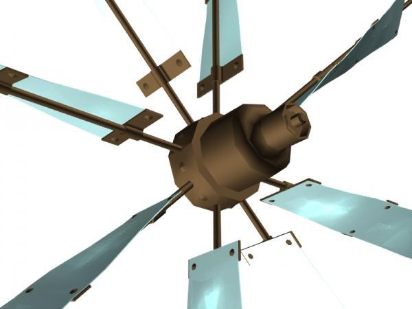 Летучий корабль 2 (3D-модель шаг за шагом) (Фото 14)