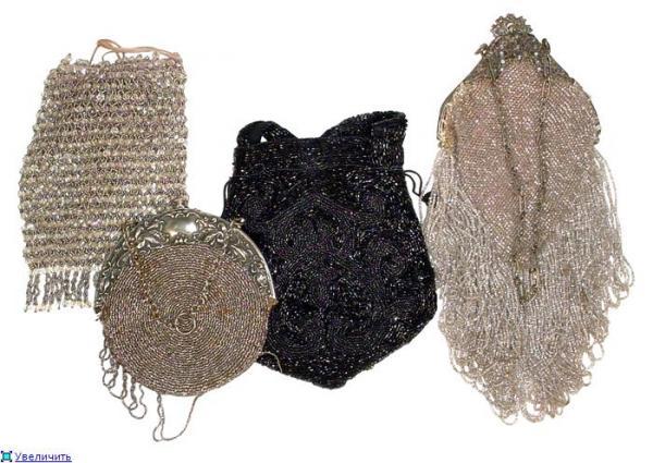 Дамские сумочки в Викторианскую эпоху (Фото 4)