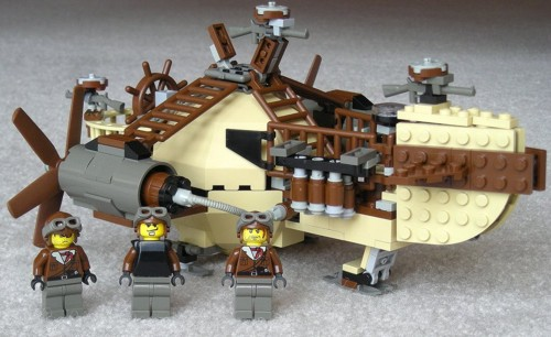 Стимпанк в LEGO исполнении (Фото 3)