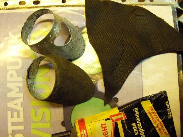 "Гогглы   Монте Кристо  для конкурса  ""STEAMPUNK-VISION 3D"" от NVIDIA .  № 1 (Фото 18)"