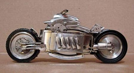 Мотоциклы из часовых механизмов (Фото 13)