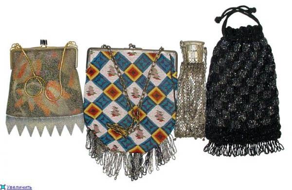 Дамские сумочки в Викторианскую эпоху (Фото 8)