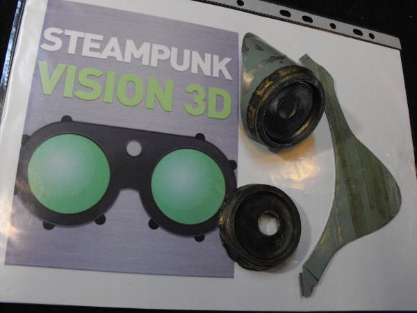 "Гогглы   Монте Кристо  для конкурса  ""STEAMPUNK-VISION 3D"" от NVIDIA .  № 1 (Фото 12)"