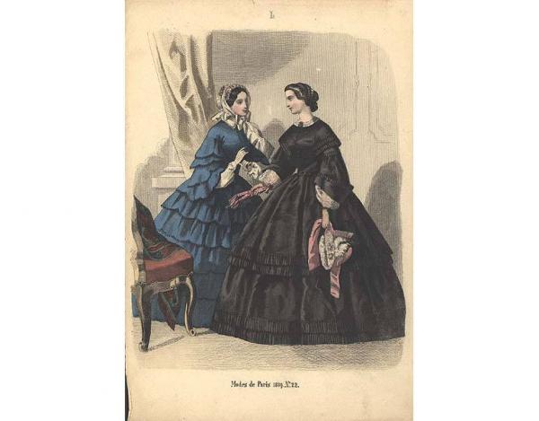 Переменчивая мода Викторианской эпохи (Фото 23)
