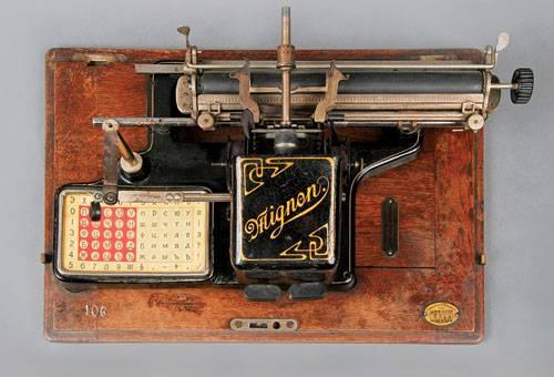 История печатных машинок (Фото 7)