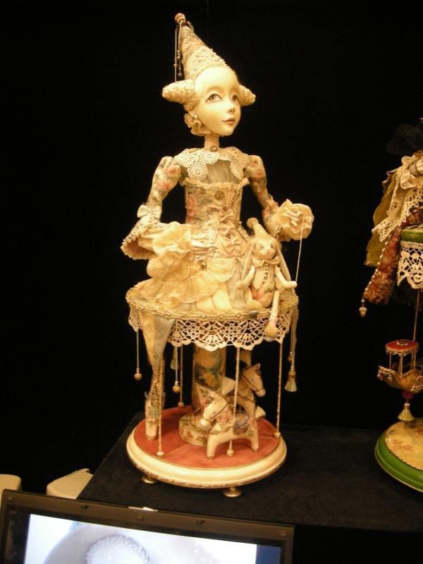 Выставка Авторской Куклы в залах Союза Художников (Петербург) (Фото 12)
