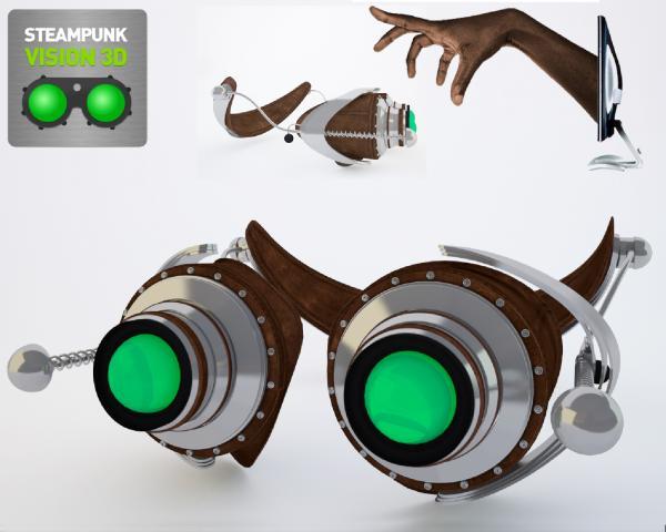 Работа на конкурс Steampunk-Vision 3D в Студию, автор TIMASS