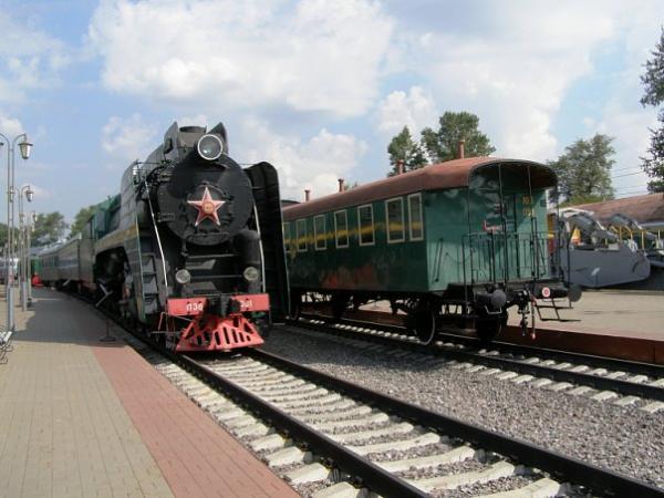 Музей железнодорожной техники Фототчёт