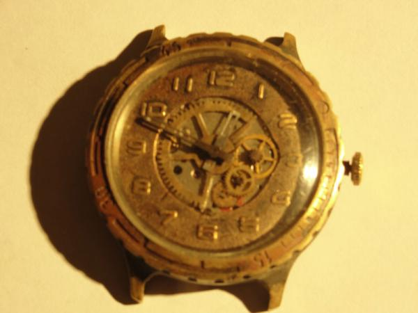 """Часы """"Слава"""", мой первый опыт в моддинге часов. (Фото 4)"""