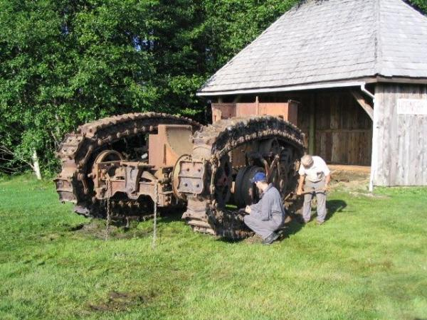 Паровой трактор Хорнсби (Фото 6)
