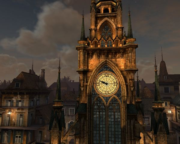 ClockTower3DScreensaver
