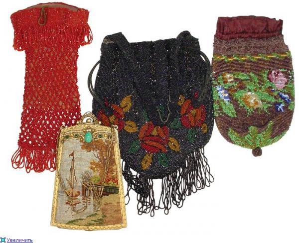 Дамские сумочки в Викторианскую эпоху (Фото 5)