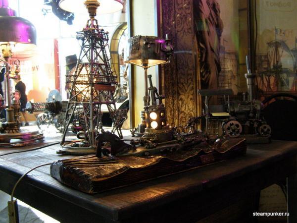 """Стимпанк стенд на """"Олдтаймер-галерее"""" 7-10 октября 2010 (Фото 2)"""