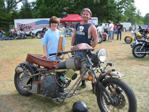 мотоцикл Dave Geertsen (Фото 7)