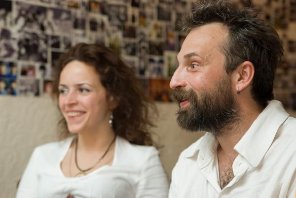 Андрей-Тони Бредов и Анастасия Гут