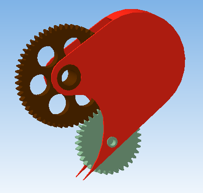 3D - сердце с шестернями (Фото 6)